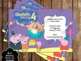 Nick Jr Birthday Invitations Novel Concept Designs Nick Jr Peppa Pig Birthday Party