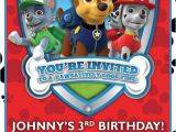 Nick Jr Paw Patrol Birthday Invitations 148 Best Images About Paw Patrol Party On Pinterest