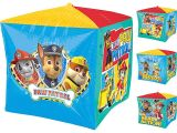 Nick Jr Paw Patrol Birthday Invitations Paw Patrol Cubez Foil Balloon Birthday Party Supplies