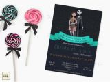 Nightmare before Christmas Baby Shower Invitations Free Download Nightmare before Christmas Baby Shower Invite Diy