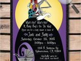 Nightmare before Christmas Baby Shower Invitations Templates Free Jack & Sally Nightmare before Christmas Baby by Delightinvite