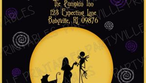 Nightmare before Christmas Baby Shower Invitations Templates Free Nightmare before Christmas Chalk Wall Google Search