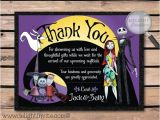 Nightmare before Christmas Bridal Shower Invitations Nightmare before Christmas Bridal Shower Thank by