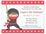 Ninja Birthday Party Invitation Template Free 38 Kids Birthday Invitation Templates Psd Ai Free