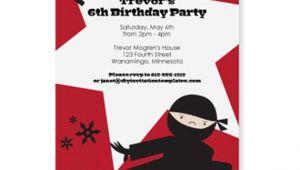 Ninja Party Invitation Template Ninja Birthday Party Invitation Template by Loveandpartypaper