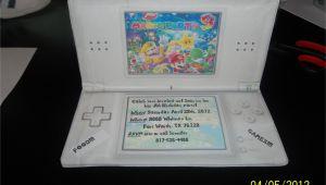 Nintendo Ds Birthday Party Invitations Inside 39 Mario Party 9 39 Birthday Party Invitation Made to