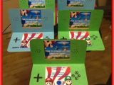 Nintendo Ds Birthday Party Invitations Nintendo Ds Invitations I Made for My sons Super Mario