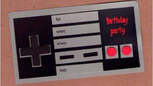 Nintendo Party Invitations Items Similar to Nintendo Controller Birthday Invitations