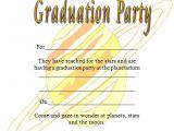Non Photo Graduation Invitations Galaxy Printable Graduation Invitations