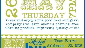 Norwex Launch Party Invitations Burrfect Design norwex Party Invite