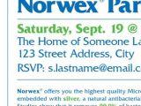 Norwex Launch Party Invitations norwex Party Invitation Invitation Librarry
