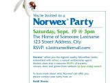 Norwex Launch Party Invitations norwex Party Invitation