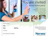 Norwex Party Invitation Templates norwex Party Invitation theruntime Com