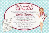 Nurse Graduation Invitations Printable 6 Best Images Of Free Printable Nursing Invitations