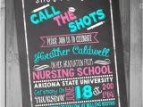Nurse Graduation Invitations Printable Nursing School Graduation Invitation Graduation Party College