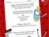 Nursing Graduation Party Invitations Templates 6 Best Of Free Printable Nursing Invitations