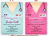 Nursing Graduation Party Invitations Templates Alluring Nursing School Graduation Invitations Hd