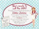 Nursing School Graduation Party Invitations Templates 6 Best Images Of Free Printable Nursing Invitations