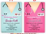Nursing School Graduation Party Invitations Templates Alluring Nursing School Graduation Invitations Hd Images