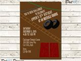 Obstacle Course Birthday Party Invitations Obstacle Course Birthday Party Invitation Invite by