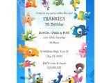 Ocean theme Party Invitations Ocean theme Children 39 S Birthday Party Invitation Zazzle