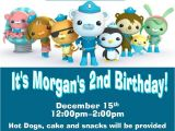 Octonauts Birthday Party Invitations 12 Printed Octonauts Birthday Invitations by