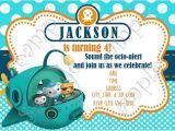 Octonauts Birthday Party Invitations Octonauts Invitation Octonauts Birthday Free Thank You