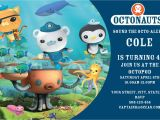 Octonauts Birthday Party Invitations Unavailable Listing On Etsy