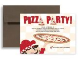 Office Pizza Party Invitation Template Pizza Party Video Game Birthday Invitation Design 7×5 In