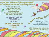 Oh the Places You Ll Go Baby Shower Invitations Oh the Places You Ll Go Baby Shower Invitations