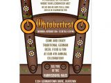 Oktoberfest Party Invitation Templates Funny Lederhosen Oktoberfest Party Invitations 5 Quot X 7