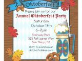 Oktoberfest Party Invitation Templates Oktoberfest Party Invitations 5 25 Quot Square Invitation Card