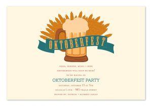 Oktoberfest Party Invitation Templates Oktoberfest Party Invitations by Invitation Consultants