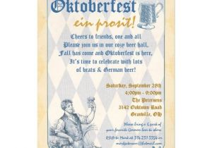 Oktoberfest Party Invitation Templates Personalized Oktoberfest Invitations Custominvitations4u Com