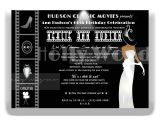 Old Hollywood Party Invitations Hollywood themed Birthday Invitations for Sale Hollywood