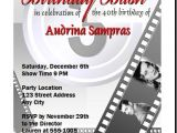 Old Hollywood Party Invitations Old Hollywood Glamour Party Invitations