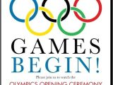 Olympic Birthday Party Invitations Free 17 Best Beer Olympics Images On Pinterest Adult Games