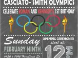 Olympic Birthday Party Invitations Olympic themed Invitation Digital or Printed Option