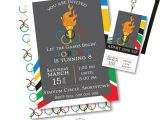 Olympic Birthday Party Invitations Printable Olympic Party Invitation Olympic Party Invitation Printable