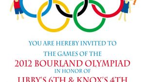 Olympics Birthday Party Invitations Olympic Party Invitation Olympics Birthday Invitation Digial