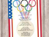 Olympics themed Party Invitations Olympic Games A Party Invitation Personalized and Printable