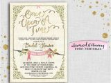 Once Upon A Time Bridal Shower Invitations Bridal Shower Invitation Ce Upon A Time by