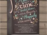 Once Upon A Time Bridal Shower Invitations Ce Upon A Time Bridal Shower Invitation Bridal Invite Pink