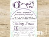 Once Upon A Time Bridal Shower Invitations Ce Upon A Time Bridal Shower Invitation Fairytale Bridal