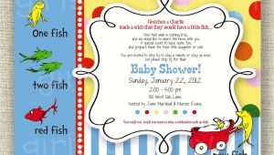 One Fish Two Fish Baby Shower Invitations E Fish Two Fish Baby Shower Invitations