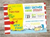 One Fish Two Fish Baby Shower Invitations Printable Dr Seuss Baby Shower Invitations for E Baby