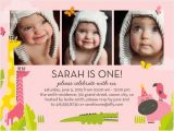 One Year Birthday Party Invitations Free One Year Old Birthday Invitations Template Free