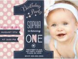 One Year Birthday Party Invitations One Year Old Birthday Invitations Oxsvitation Com