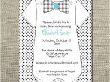 Onesie Baby Shower Invitations for Baby Boy Pinterest Discover and Save Creative Ideas