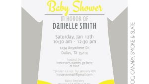 Onesies Baby Shower Invitations Esie Baby Shower Invitation